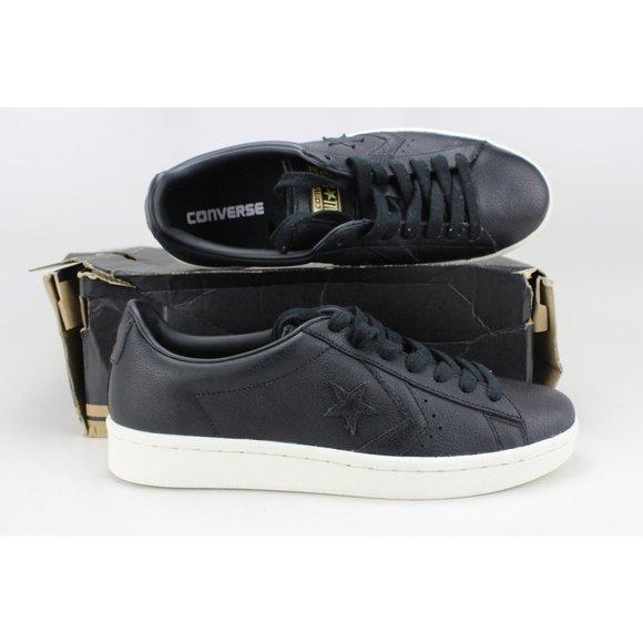 Men's Pro Leather 76 OX Black/Egret 157729C
